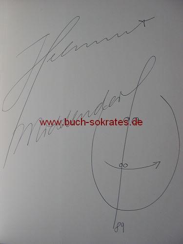 Helmut Middendorf: Zeichnungen signiert u. mit Kuli-Zeichnung (1989)