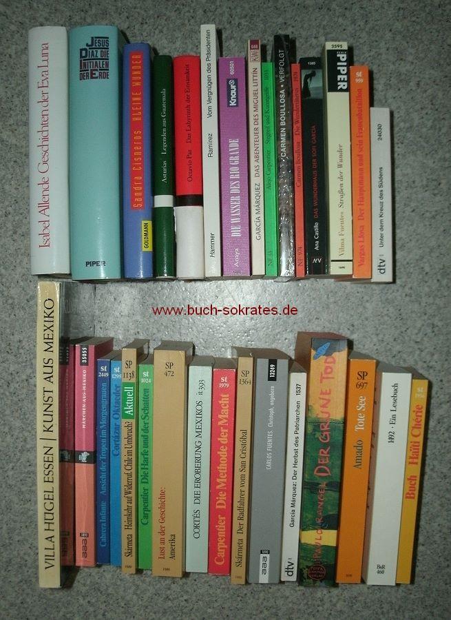 Konvolut 33 Bde. Belletristik Lateinamerika, u.a. Alejo Carpentier, Mario Vargas Llosa