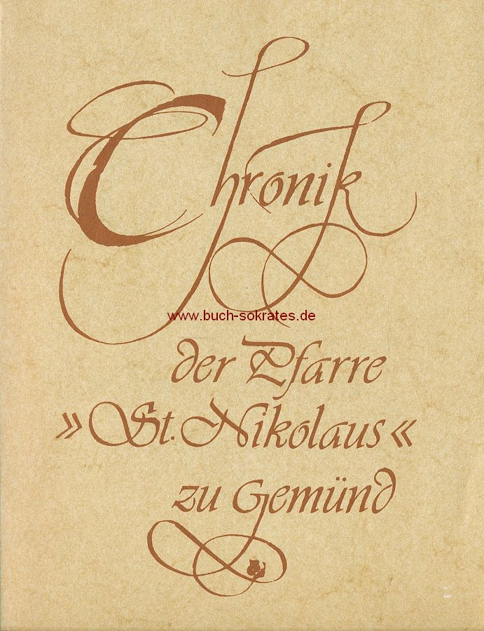 Chronik der Pfarre St. Nikolaus zu Gemünd (1978)