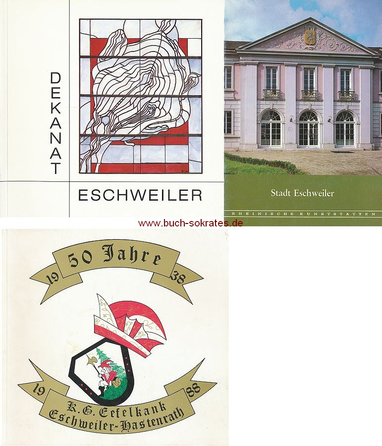 4 Bde. Eschweiler - Dekanat - Eefelkank Karneval - Stadt Eschweiler (1983-90)