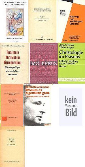Konvolut Theologie - Eugen Drewermann etc. - Gewicht ca. 2 kg (ca. 1960)