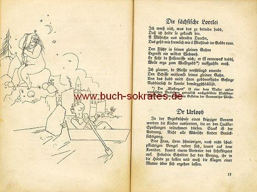 Reimann: Sächsische Miniaturen / Zeichnungen George Grosz (1921)