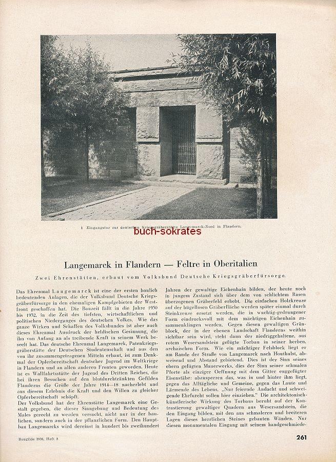 Die Baugilde. Zeitschrift der Fachgruppe Architekten in der Reichskammer der Bildenden Künste (1938)