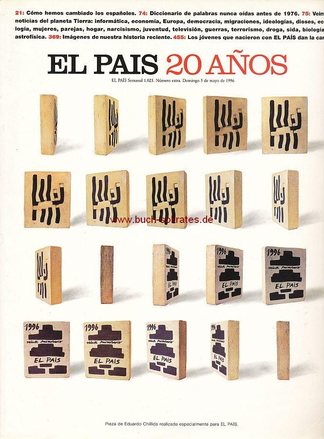 El País 20 años. El País semanal 1.023. Número extra (1996)