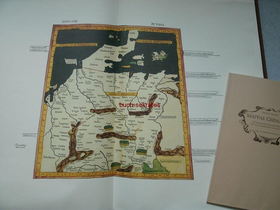 Peter H. Meurer: Mappae Germaniae. Die schönsten und bedeutendsten Deutschlandkarten (1984)