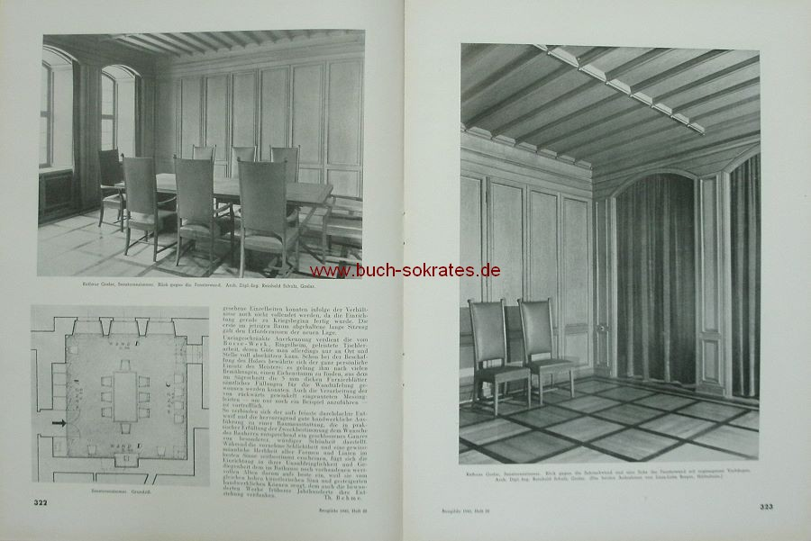 Die Baugilde. Zeitschrift für die Deutschen Architekten. Baukunst, Bautechnik, Bauwirtschaft (1940)