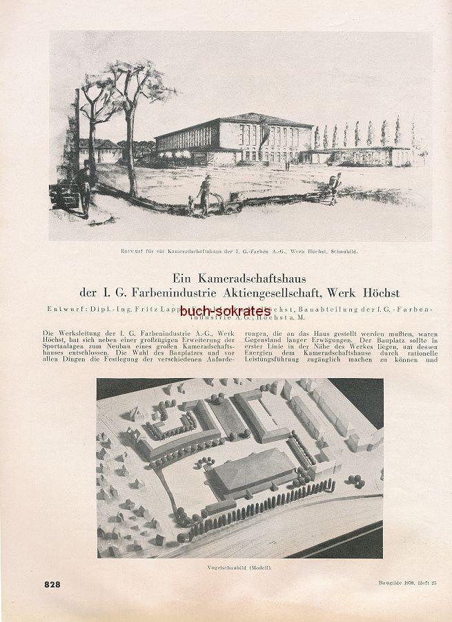 Die Baugilde. Baukunst, Bauwirtschaft, Bautechnik. Zeitschrift des Bundes Deutscher Architekten (1939)