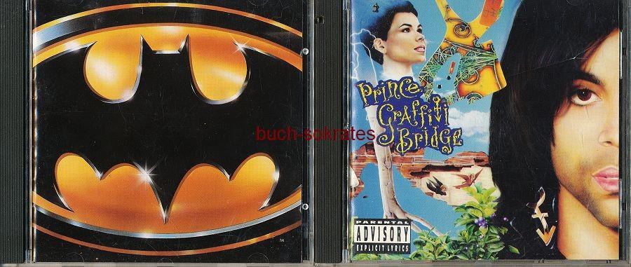 Audio-CDs Konvolut Prince: Purple Rain (1984) / Around the World in a day (1985) / Batman Soundtrack (1989) / Graffiti Bridge (1990) / Love Symbol (1992) / Come (1994)