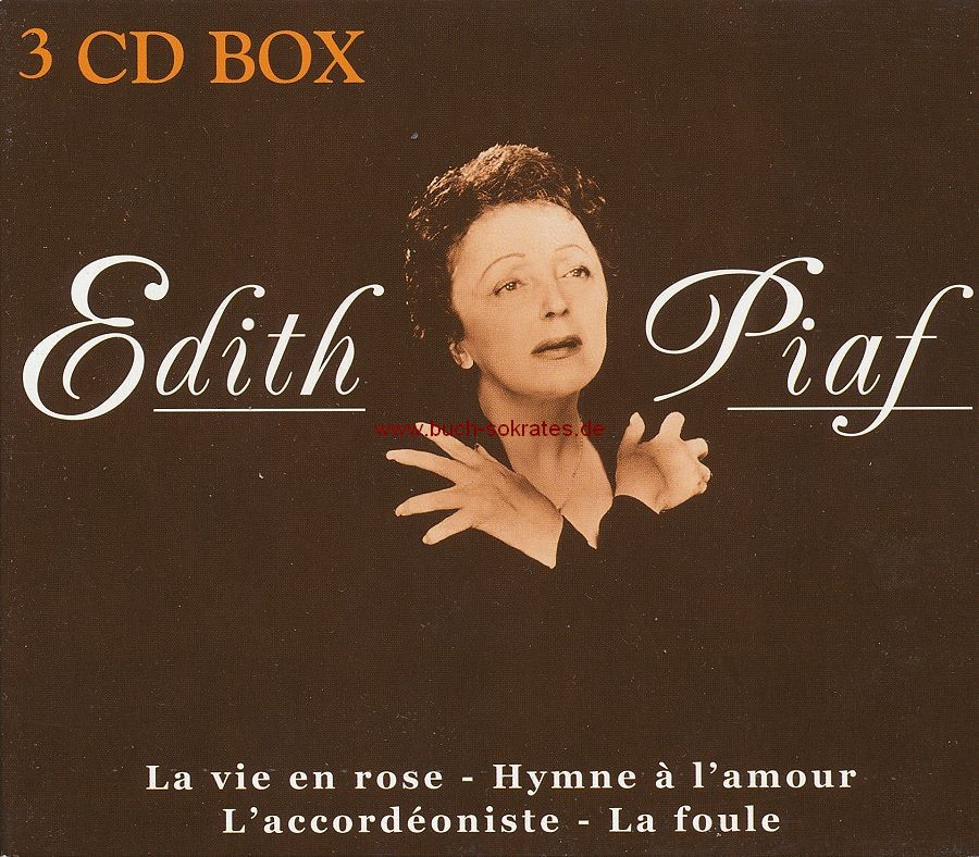 3 CD-Box Edith Piaf (Disky; 1999)