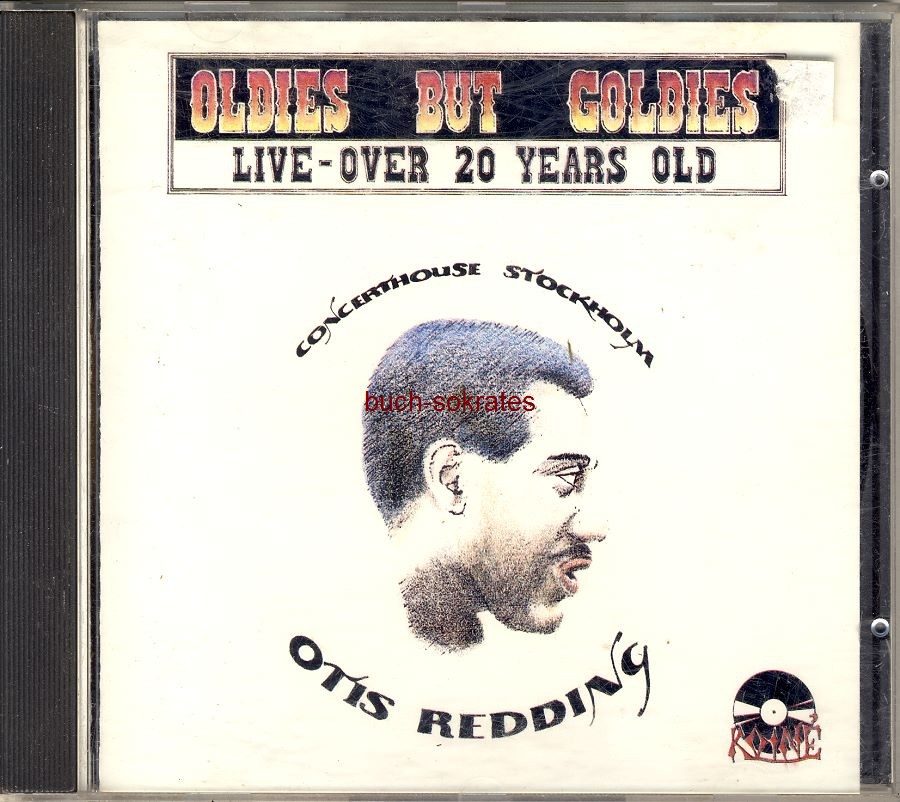 Audio-CD Otis Redding: Live at Concerthouse Stockholm - June 4, 1967 (Koiné, 1988)