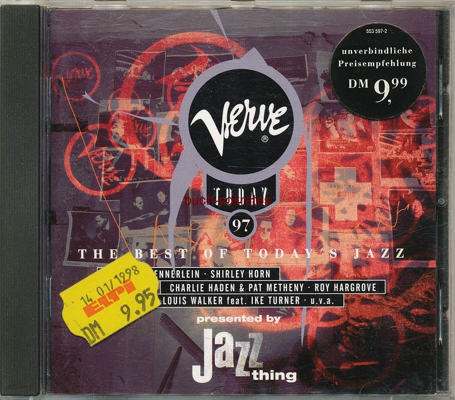 Audio-CDs Verve Today 97. The Best of Today s Jazz (Motor Music, 1997)