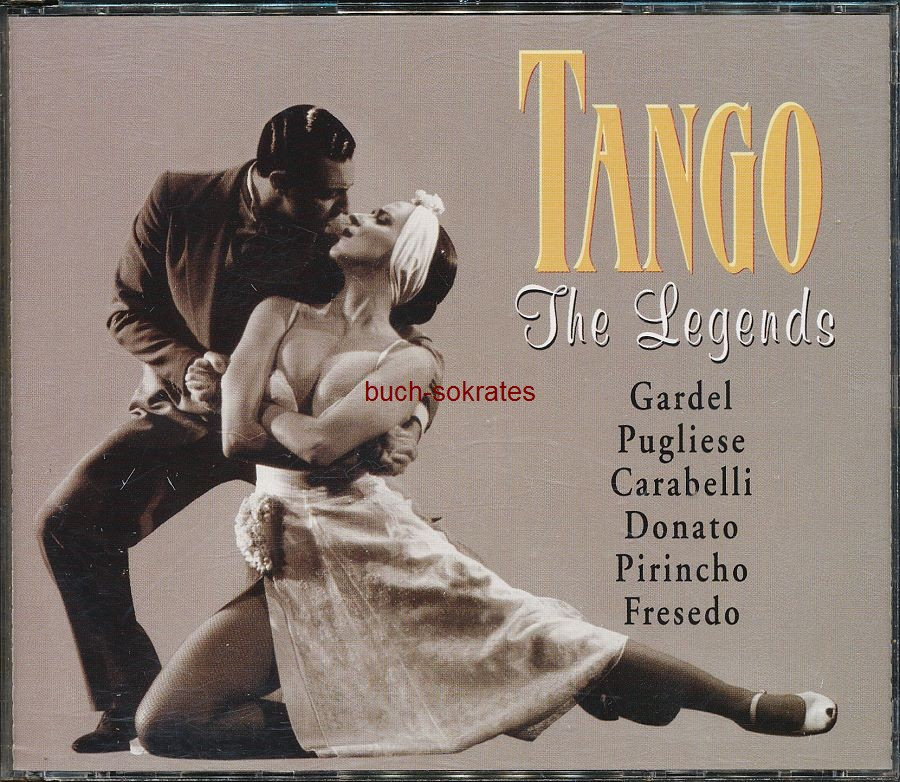 Audio-CD Tango - The Legends (2 CDs): Gardel, Pugliese, Carabelli, Donato, Pirincho, Fresedo (Master Music, 1998)