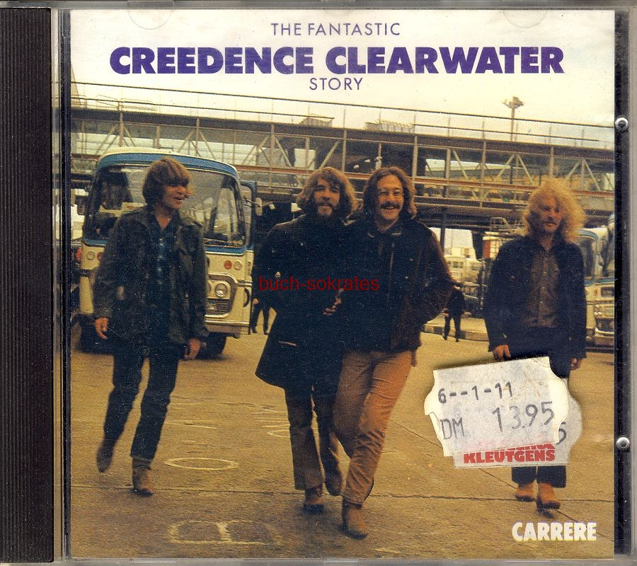 Audio-CD Creedence Clearwater Revival: The Fantastic Creedence Clearwater Story (Carrere, 1986, 3218030910047)