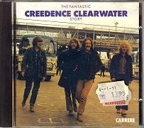 Audio-CD Creedence Clearwater Revival: The Fantastic Creedence Clearwater Story (Carrere, 1986, 3218030910047).