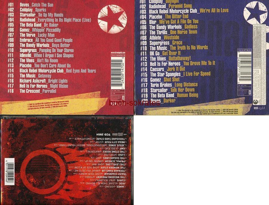 Audio-CD Alternative Rock / Britpop: The Alternative Album / The Alternative Album / 100% Indie Rarities (2003-04)