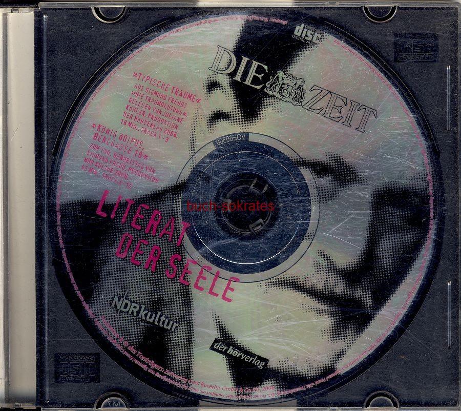 Audio-CD Literat der Seele (Sigmund Freud): Typische Träume / König Ödipus Berggasse 19 (Die Zeit / NDR kultur / der hörverlag, 2006)