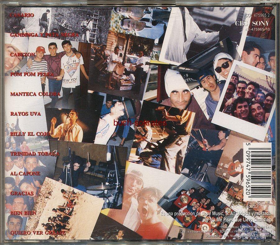 Audio-CD No me pises que llevo Chanclas - Perdonen las disculpas (1994)
