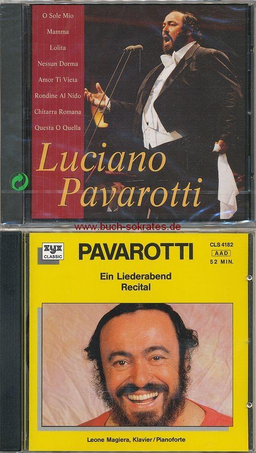 Luciano Pavarotti + Pavarotti. Ein Liederabend / Recital (Wise Buy / ZYX; 1995)