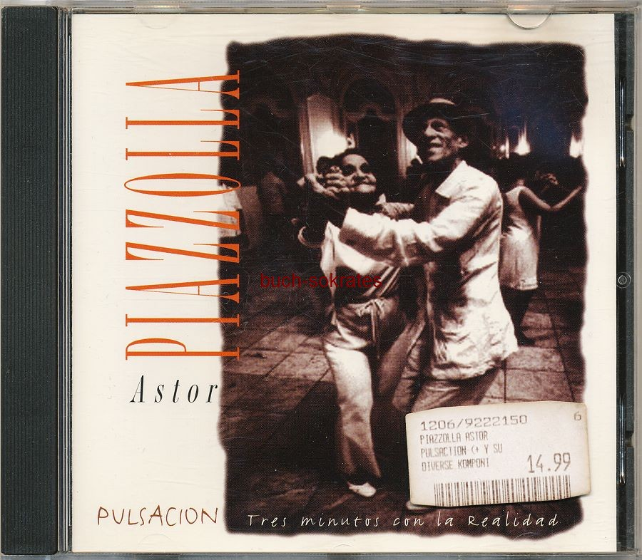Audio-CD Astor Piazzolla: Pulsación. Tres minutos con la Realidad (ITM-Media, 1994)