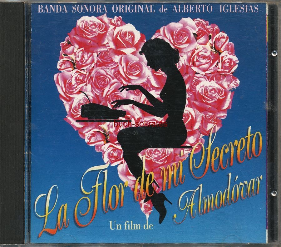 Cd la flor de mi secreto banda sonora soundtrack for Banda sonora de el jardin secreto