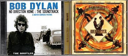 2 Audio-CDs: 1.) Bob Dylan: No Direction Home : The Soundtrack. The Bootleg Series, Vol. 7 (Sony Music, 2010, 16+12 Tracks) - Doppel-CD, 2.) Kula Shaker: Kollected. The Best of Kula Shaker (mit Dylan-Cover Ballad of a Thin Man).
