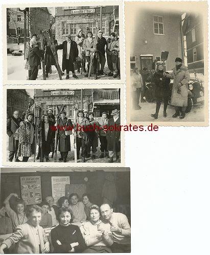 Fotos Winterurlaub in Lauscha / Thüringen / Thüringer Wald (ca. 1950)