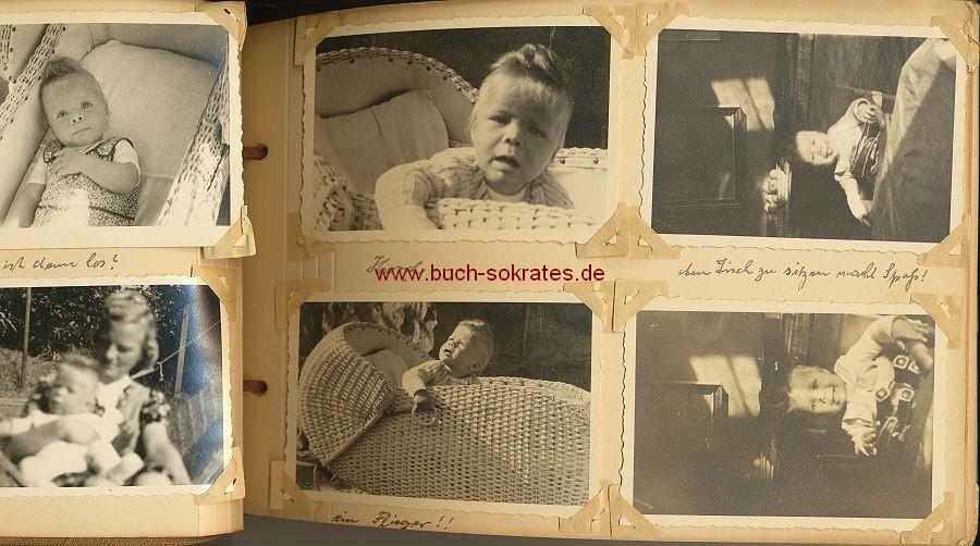 Foto-Album Familie / Baby aus Dresden - 50er Jahre