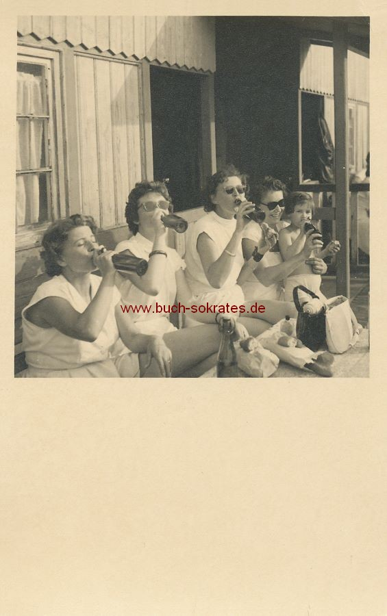 Fotos Frauen Tennis / Tennisspielerinnen in Leipzig / DDR (ca. 1950)