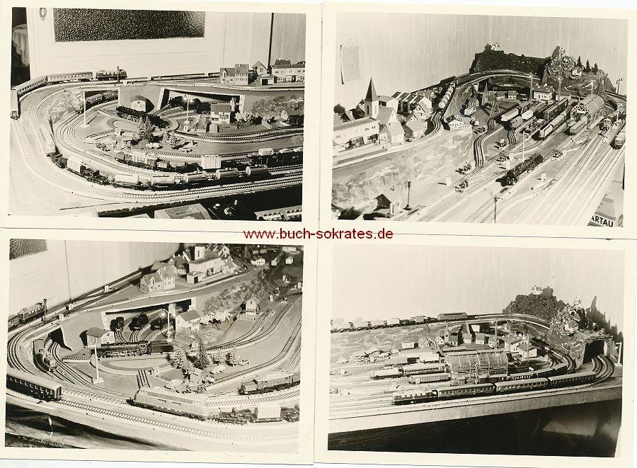 Foto Spielanlage Modelleisenbahn (1967)