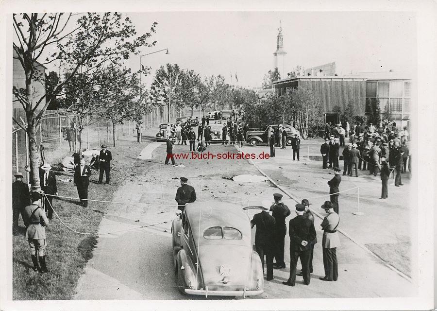 Foto Bombenexplosion New York Weltausstellung (1940)