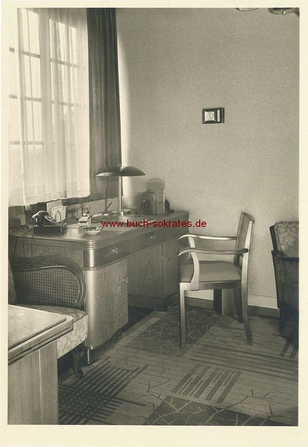 Foto Tuchfabrik Theodor Ortmanns in Aachen-Brand, Eckenerstraße 31 - Büro (ca. 1955)