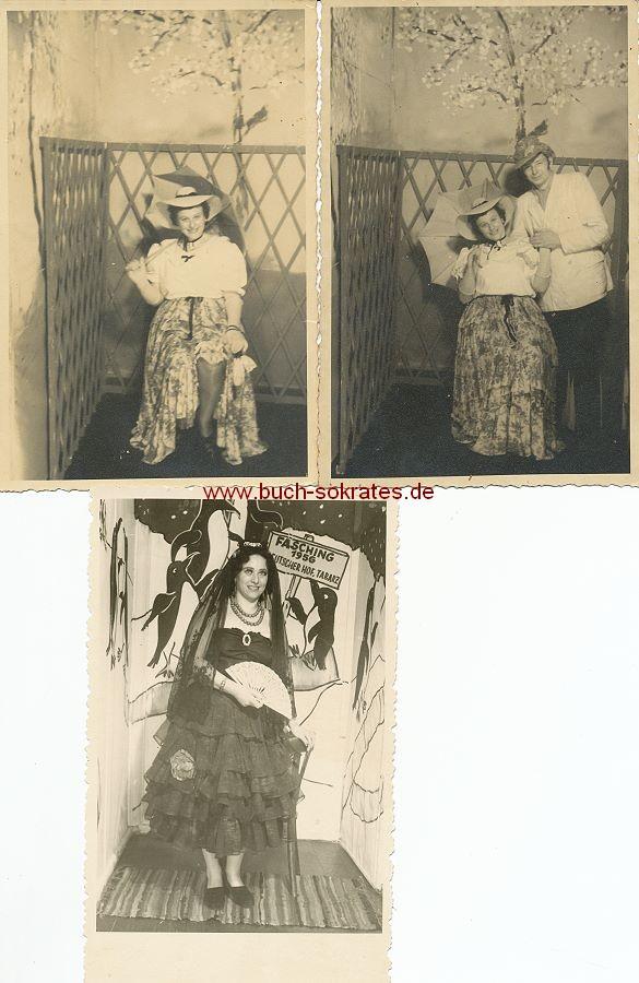 Foto Maskenball / Fasching in Tabarz / Thüringen (1952-56)