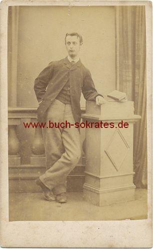 Junger Mann aus Guildford/England (ca. 1880)