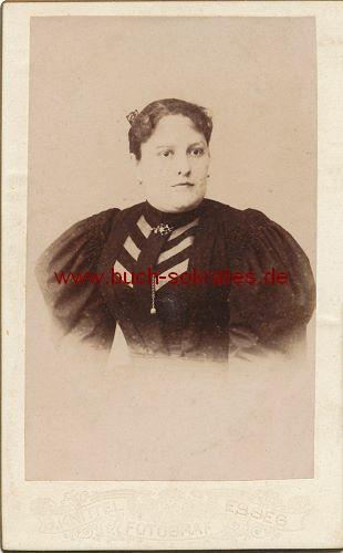 CdV Foto Frau aus Esseg (heute Osijek/Kroatien) (ca. 1900)