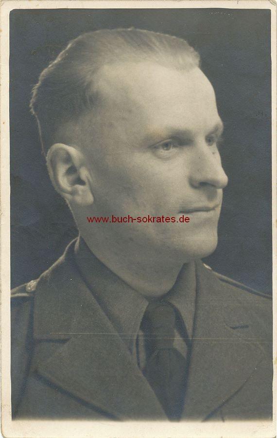 Foto Junger Mann aus Polen in Uniform (1944)