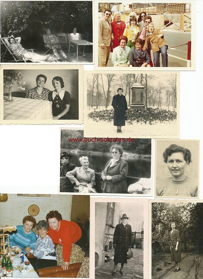 Konvolut 56 fotos mode damenmode frauenmode ca 30er 80er jahre ebay - 80er damenmode ...