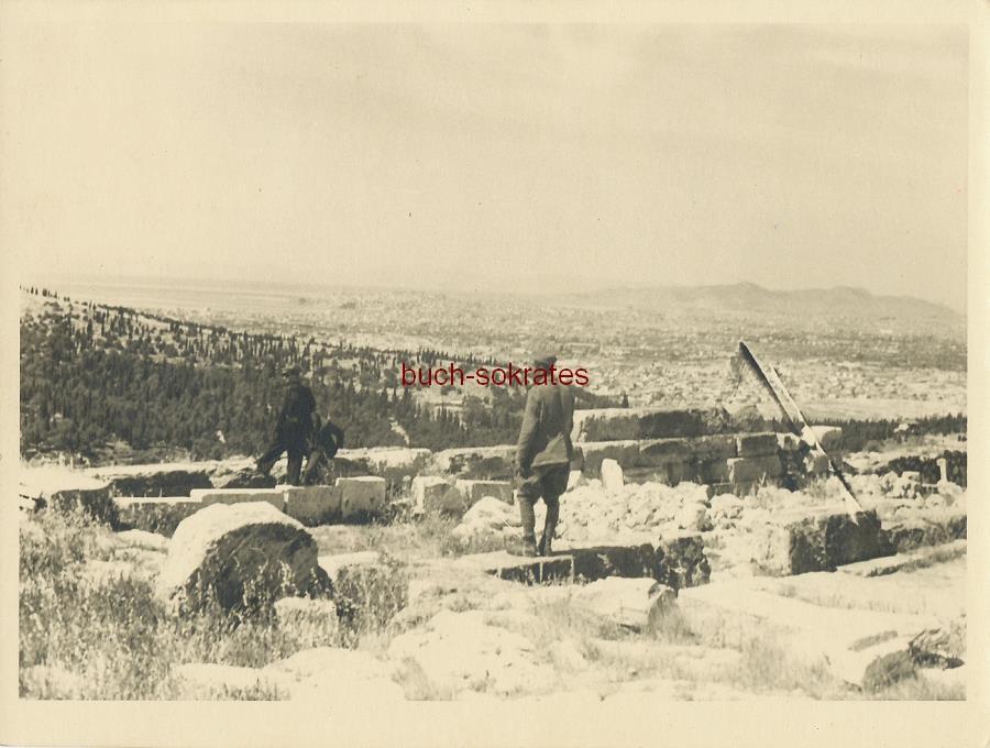 Wehrmachtssoldaten auf der Akropolis. Akropolis 29.05.1941 (1941)