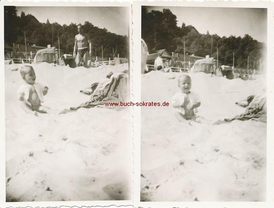 Foto Strandpromenade von Rauschen / Swetlogorsk (1944)