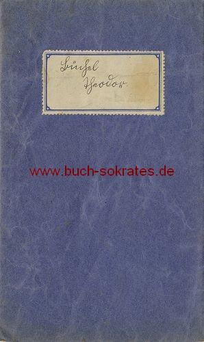 Zeugnisheft Städtische Volksschule St. Adalbert B Aachen - 1935-1940