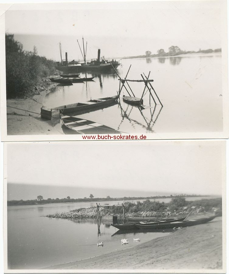 Foto Ansicht Güstebiese an der Oder (Westpommern, heute Gozdowice / Polen) (1934)