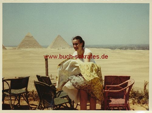 15 Fotos Ägypten-Reise Pyramiden Gizeh (ca. 1955)