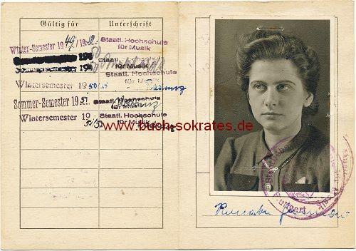Studenten-Ausweis - Stuttgart
