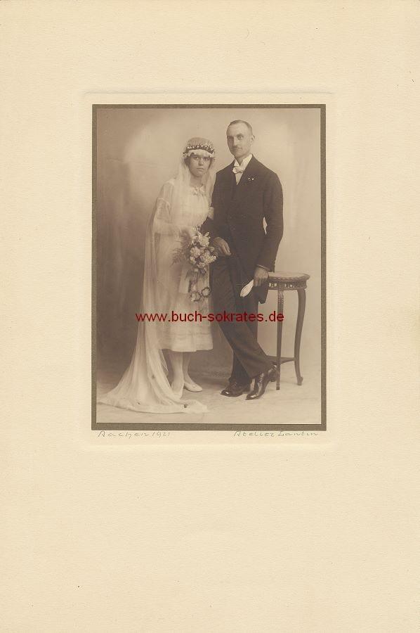 Hochzeitspaar aus Aachen (1921)