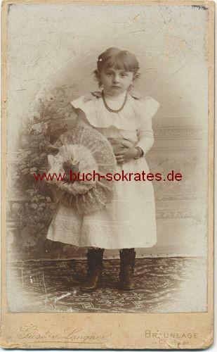 Junges Mädchen aus Braunlage (Niedersachsen) (ca. 1880)