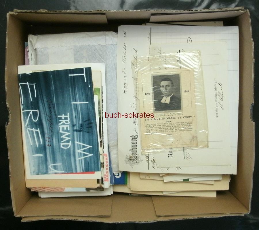 Kiste Konvolut Dokumente (ca. 1950-90)