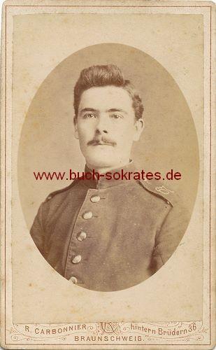 Junger Mann aus Braunschweig - Soldat (ca. 1860)