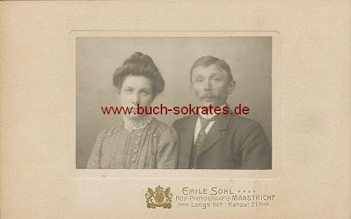 Ehepaar aus Maastricht (ca. 1910)