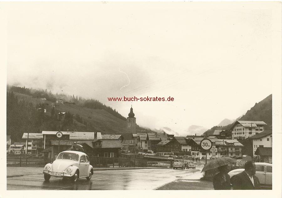 Foto Lech Vorarlberg Österreich - Pfarrkirche St. Nikolaus (ca. 1970)