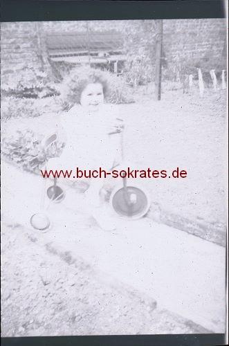s/w-Negative Familie aus Belgien (ca. 1950)