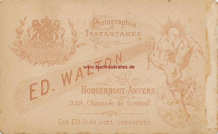 Junge Frau aus Borgerhout-Antwerpen (ca. 1890)